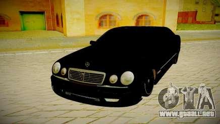 Mercedes Benz E420 W210 para GTA San Andreas