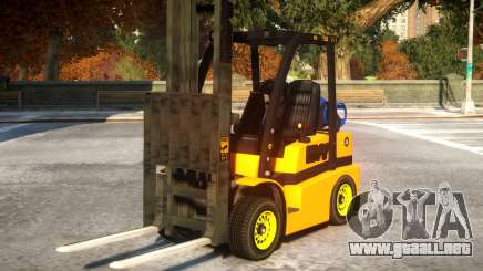 Two Seater Forklift BETA para GTA 4