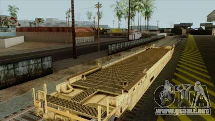 Plana wagon (color amarillo) para GTA San Andreas
