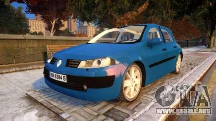 Renault Megane 2 para GTA 4