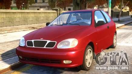 Daewoo Lanos 3-door SX US 1999 para GTA 4