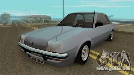 Vauxhall Cavalier MK1 Sedan 2 Door para GTA San Andreas