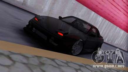 Nissan 180sx black para GTA San Andreas