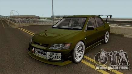 Kobayakawa Mitsubishi Evolution VII para GTA San Andreas