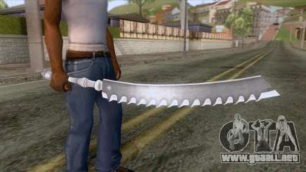Zero Kaine DLC Weapon para GTA San Andreas