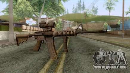 M4A1 with Aimpoint Sight para GTA San Andreas