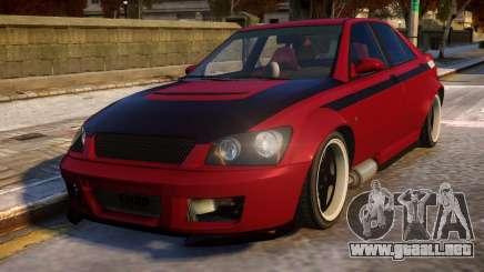 Sultan RS para GTA 4