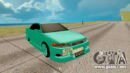 Toyota Mark 2 azure para GTA San Andreas