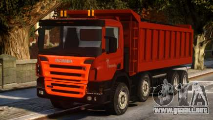 Scania Dumper P420 para GTA 4