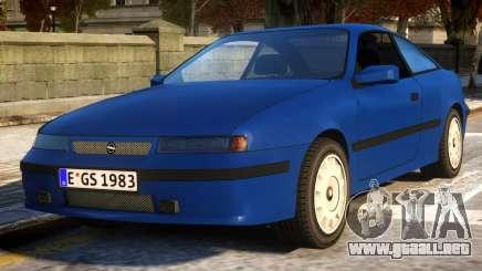Opel Calibra Basic v2 para GTA 4