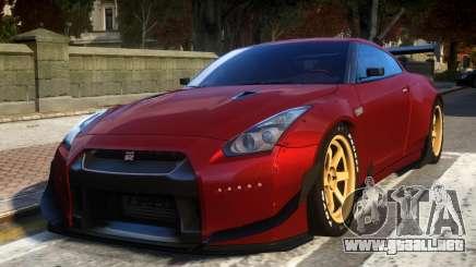 Nissan GTR R35 Rocket Bunny Beta para GTA 4
