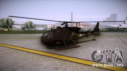 SA.341 GAZELLE Wargame: Red Dragon para GTA San Andreas