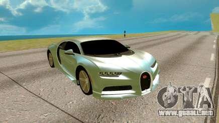 Bugatti Chiron para GTA San Andreas