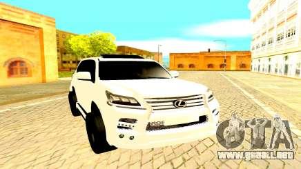 Lexus LX 450D FL Executive para GTA San Andreas