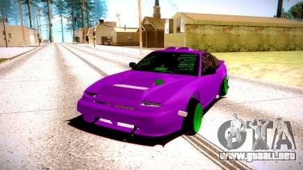 Nissan 240SX fucsia para GTA San Andreas