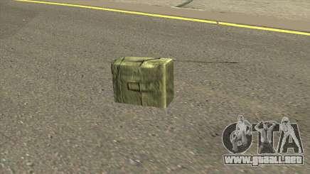 Remastered Satchel para GTA San Andreas