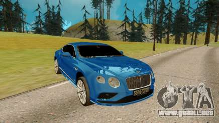 Bentley Continental G para GTA San Andreas