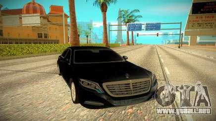 Mercedes-Benz S-class W222 2014 para GTA San Andreas