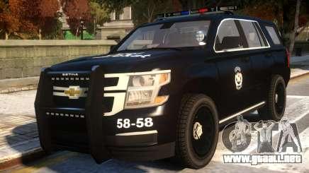 Chevrolet Tahoe Ozel Harekat para GTA 4
