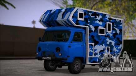 UAZ 39094 Casa sobre ruedas para GTA San Andreas
