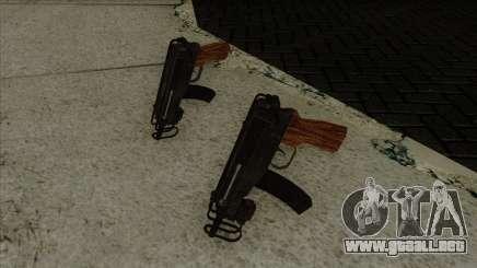 VZ-61 Resident Evil 5 para GTA San Andreas