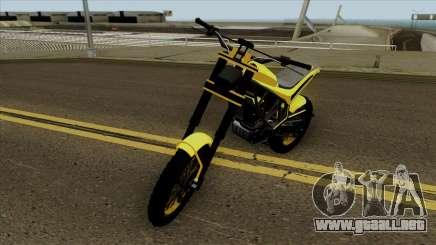GTA V Maibatsu Sanchez V1 para GTA San Andreas