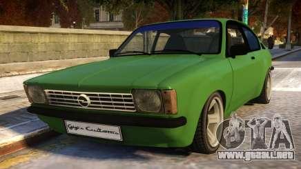 Opel Kadett C Coupe para GTA 4