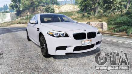 BMW M5 (F10) 2012 [replace] para GTA 5