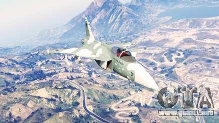 Saab JAS 39 Gripen [replace] para GTA 5