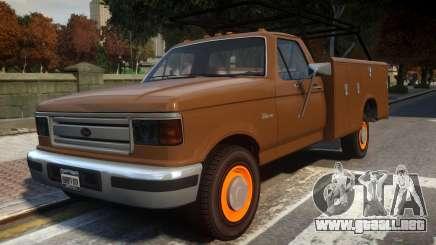 Vapid Sadler Retro Utility Truck para GTA 4