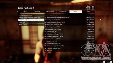 Todos los 99 guarda después de cada misión para GTA 5