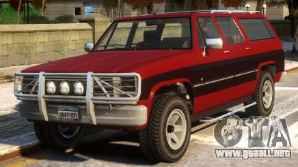 Declasse Rancher XL v.2 para GTA 4