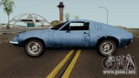 Puma GTE para GTA San Andreas left