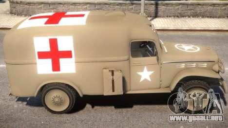 World War II Ambulance para GTA 4