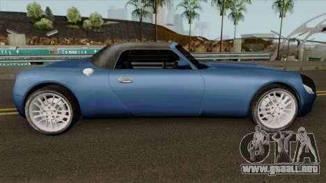 Stinger HD para GTA San Andreas vista hacia atrás