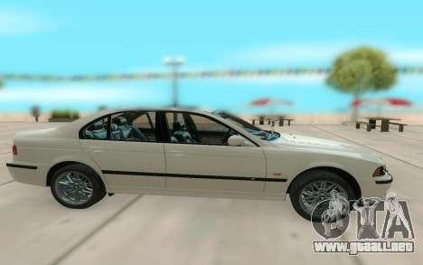 El BMW M5 E39 para GTA San Andreas left