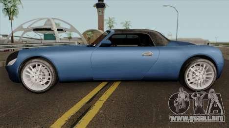 Stinger HD para GTA San Andreas left
