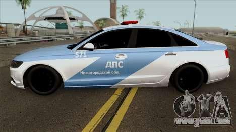 Audi A8 Police para GTA San Andreas