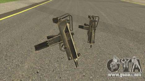 HD Micro Uzi (With HQ Original Icon) para GTA San Andreas