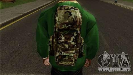 Parachute Bag HD para GTA San Andreas