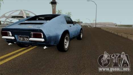 Puma GTE para la visión correcta GTA San Andreas