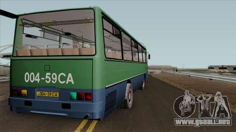 Ikarus 255 v2.0 para la visión correcta GTA San Andreas