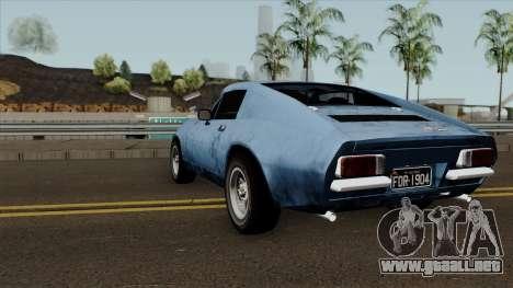 Puma GTE para GTA San Andreas vista posterior izquierda