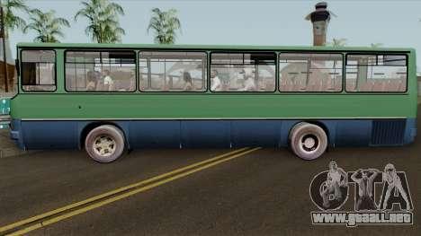 Ikarus 255 v2.0 para GTA San Andreas left