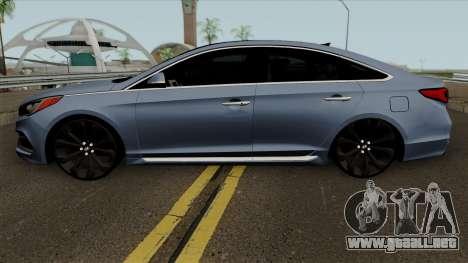 Hyundai Sonata 2017 para GTA San Andreas
