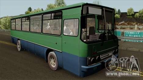 Ikarus 255 v2.0 para visión interna GTA San Andreas