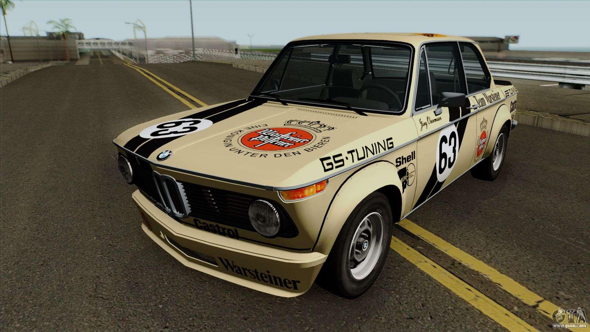 Bmw 2002 Turbo E10 1973 Para Gta San Andreas