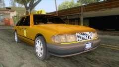 New Taxi HD para GTA San Andreas