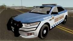 Ford Taurus 2013 Red County Police para GTA San Andreas