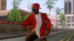 Crips & Bloods Ballas Skin 7 para GTA San Andreas